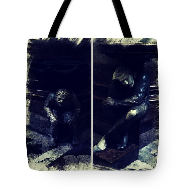 Tired Thinkers Tote Bag
