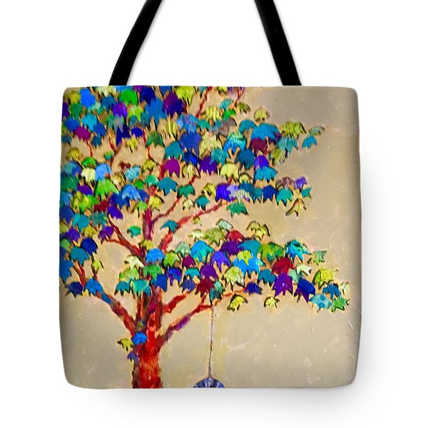 Tired Tree Tote Bag