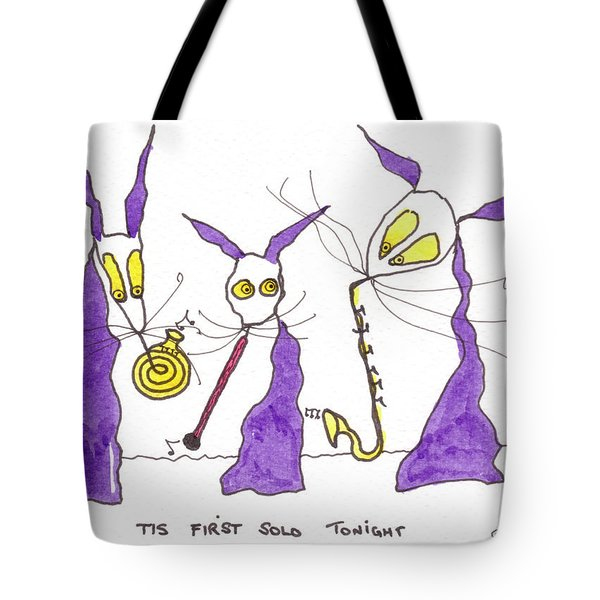 Tis First Solo Tonight Tote Bag by Tis Art