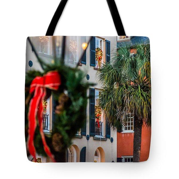 Tis The Season - Charleston Sc Tote Bag
