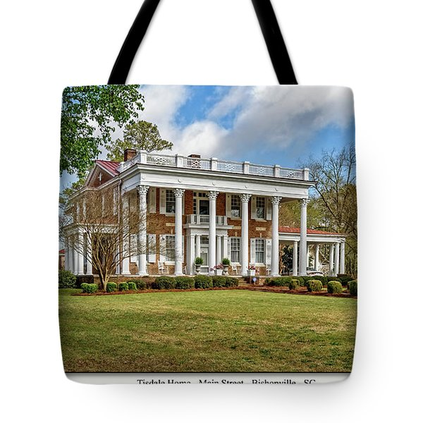 Tisdale Manor2 Tote Bag