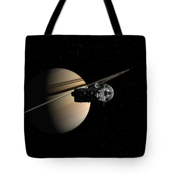 Titan In Sight Tote Bag