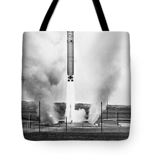 Titan Missile, 1964 Tote Bag by Granger
