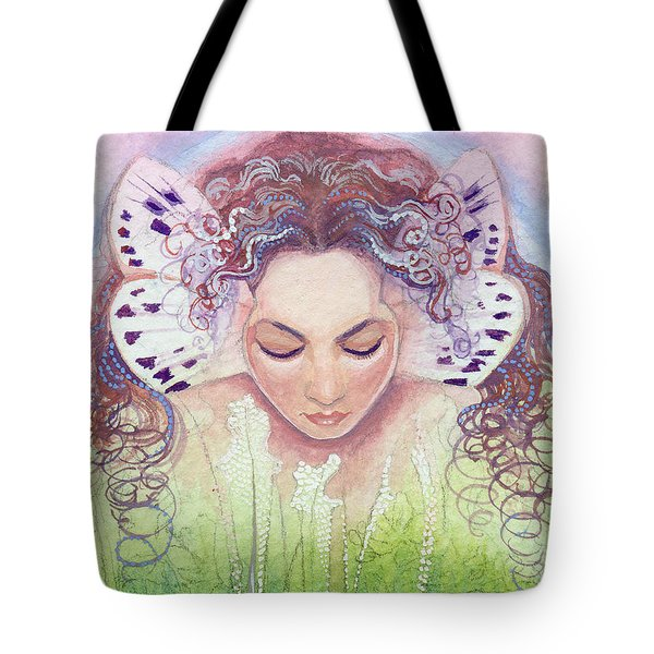 Tote Bag featuring the painting Titania by Ragen Mendenhall