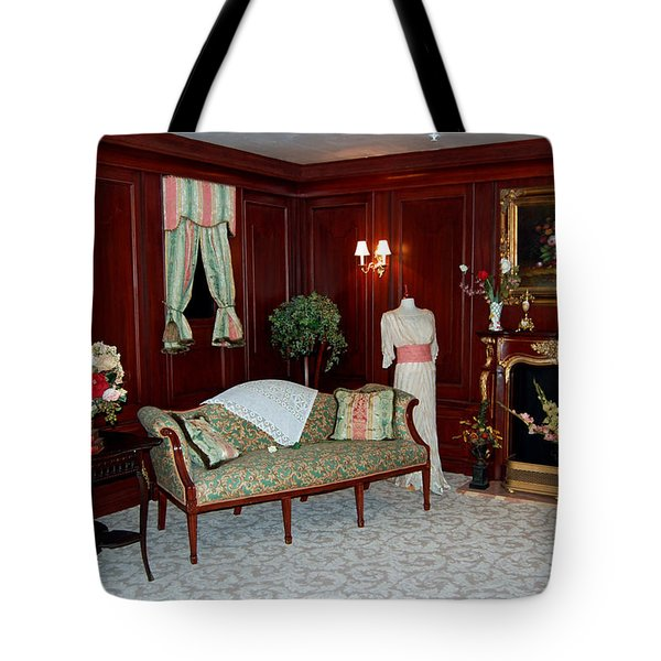 Titanic First Class Tote Bag by DigiArt Diaries by Vicky B Fuller