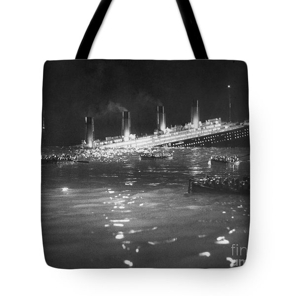 Titanic: Re-creation, 1912 Tote Bag by Granger