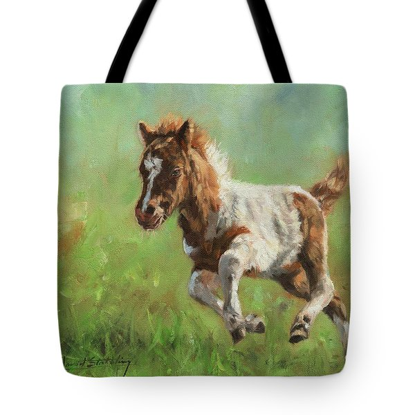 Titch. Minature Horse Foal Tote Bag