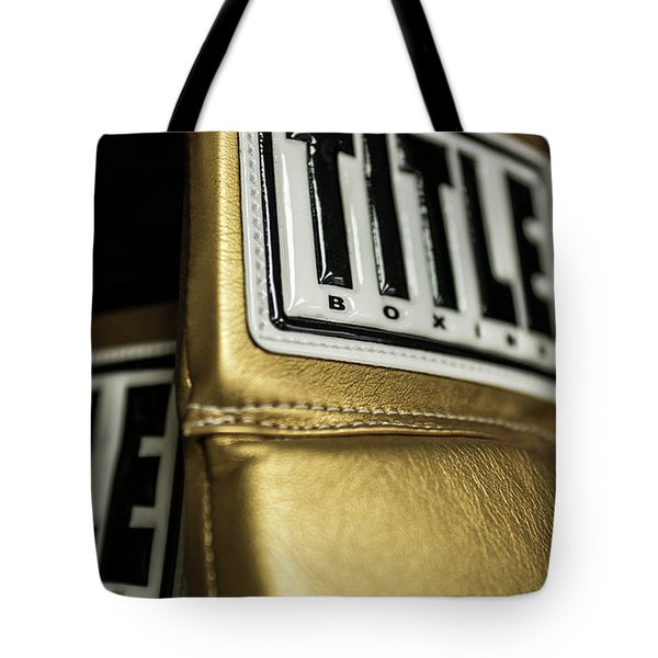 Title Boxing Gloves Tote Bag
