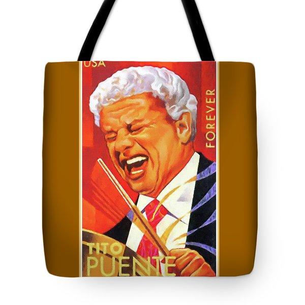 Tito Puente Tote Bag