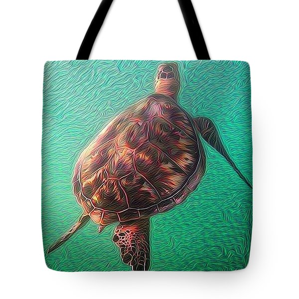 Tito The Turtle Tote Bag