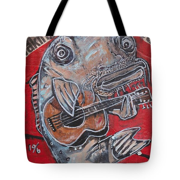 Blues Cat Tote Bag