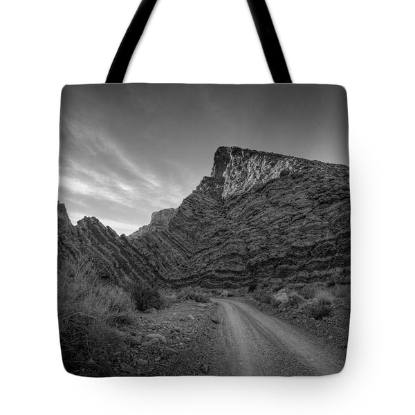 Titus Canyon Road Tote Bag