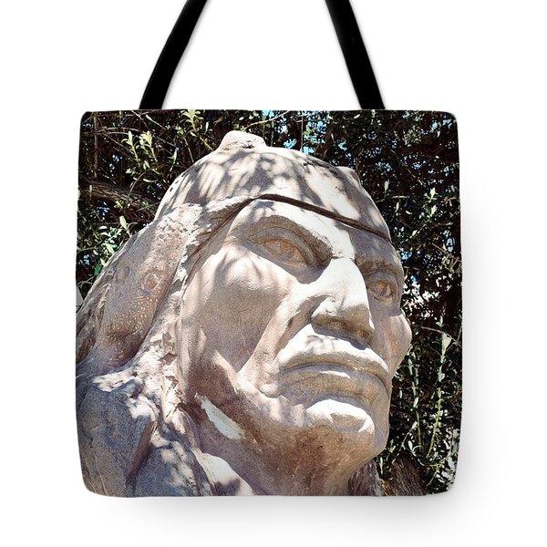 Tiwanaku Statue Tote Bag