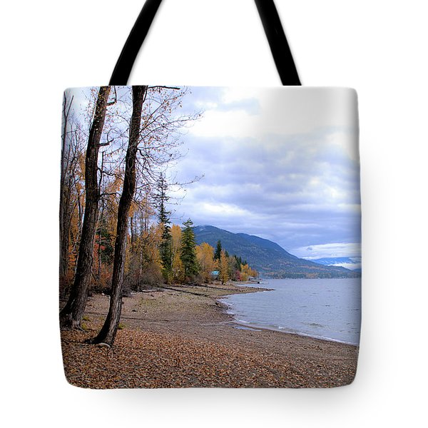 The Song Of October Tote Bag by Victor K