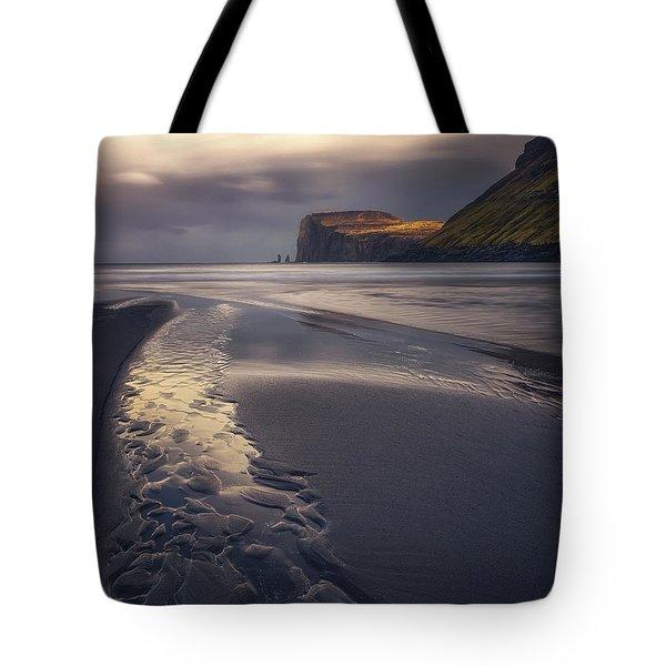 Tjornuvik Beach Tote Bag