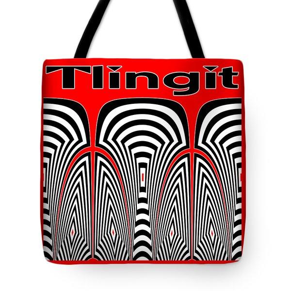 Tlingit Tribute Tote Bag