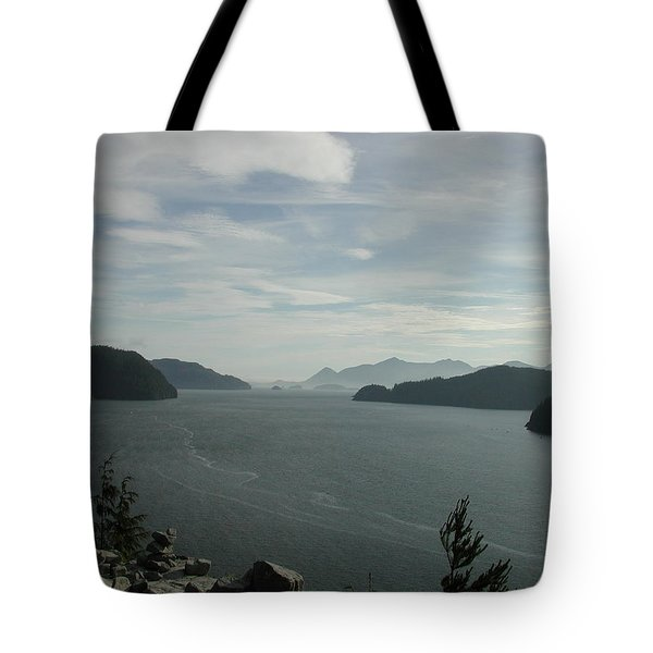 Tlupana Inlet Overlook Tote Bag