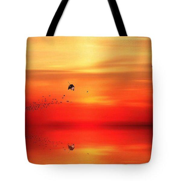 To Autumn Tote Bag by Lourry Legarde