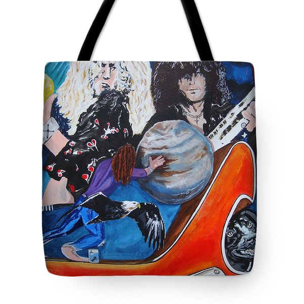 To Be A Rock And Not To Roll Tote Bag