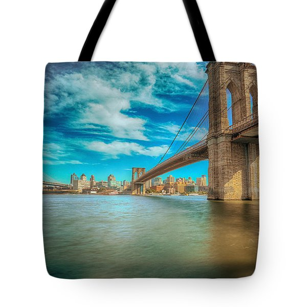 To Brooklyn And Back Tote Bag