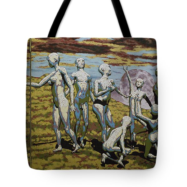 To Dance Tote Bag by Leo Mazzeo