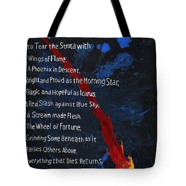 To Fall Tote Bag