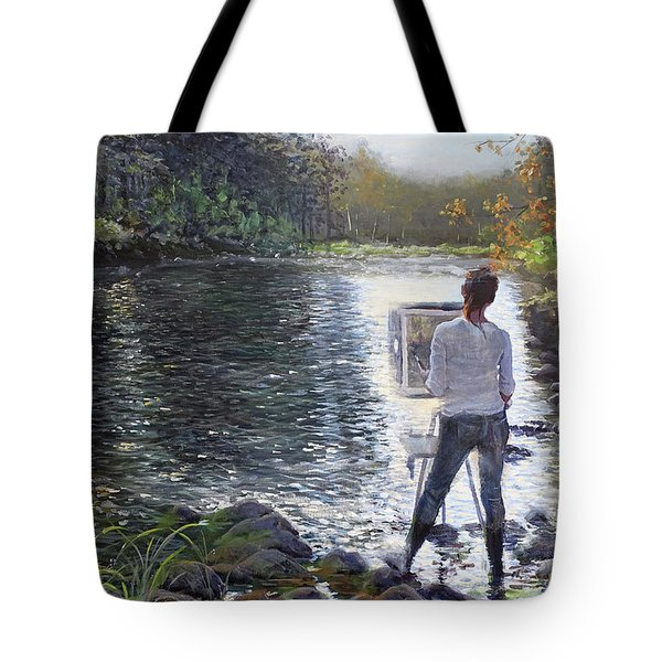 To Find Yourself Tote Bag