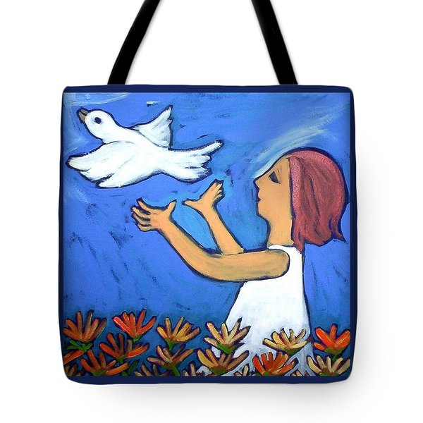 To Fly Free Tote Bag by Winsome Gunning