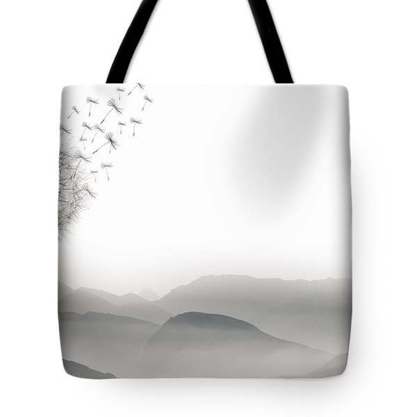 To Fly Only For A Moment Tote Bag