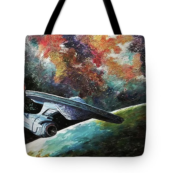 To Go Beyond  Tote Bag