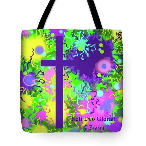 To God Be The Glory Tote Bag