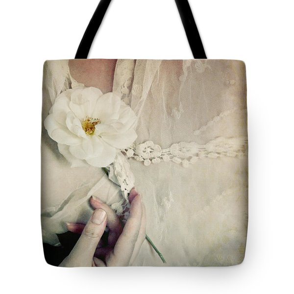 To Hold A Rose So Sweet Tote Bag
