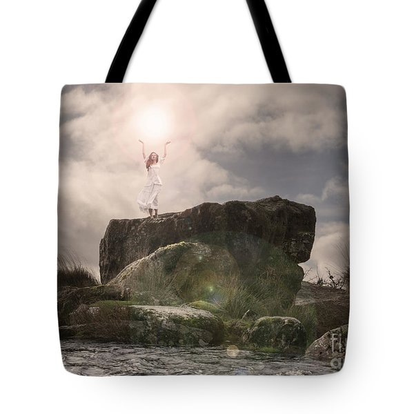 To Hold The Light Tote Bag