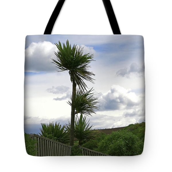 Tote Bag featuring the photograph To Kouka Cabbage Tree by Nareeta Martin