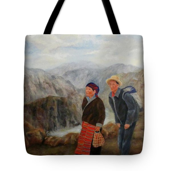 To Market Tote Bag by Roseann Gilmore