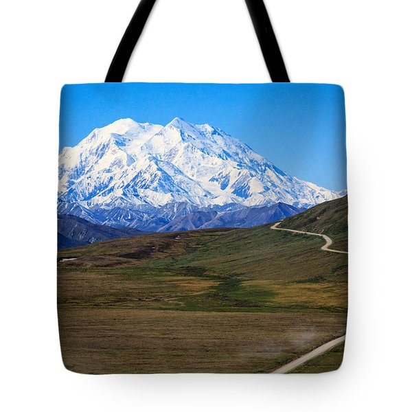To Mount Mckinley Tote Bag