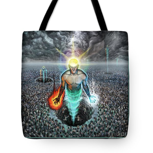 To Rise Above The Masses Tote Bag by Tony Koehl
