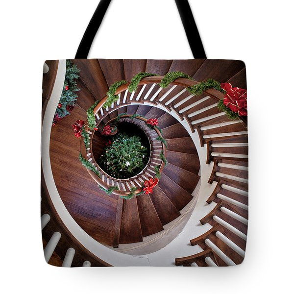 To The Bottom Of The Staircase Tote Bag