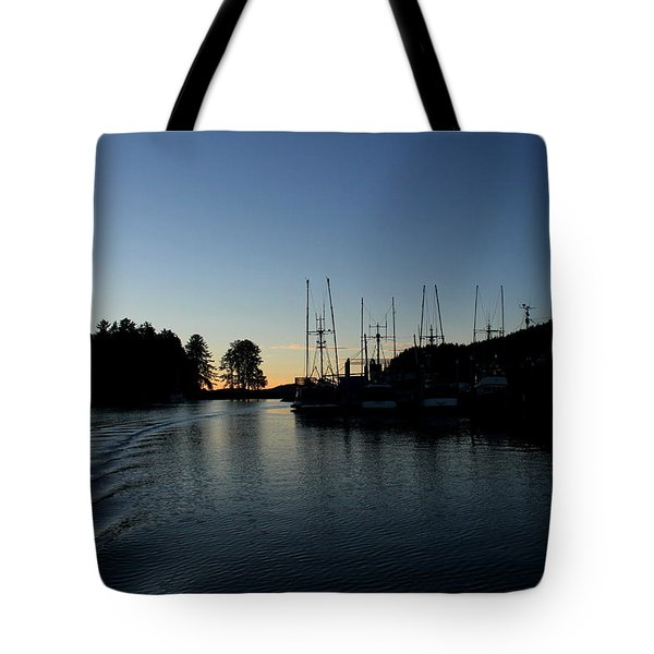 To The Harbor Tote Bag