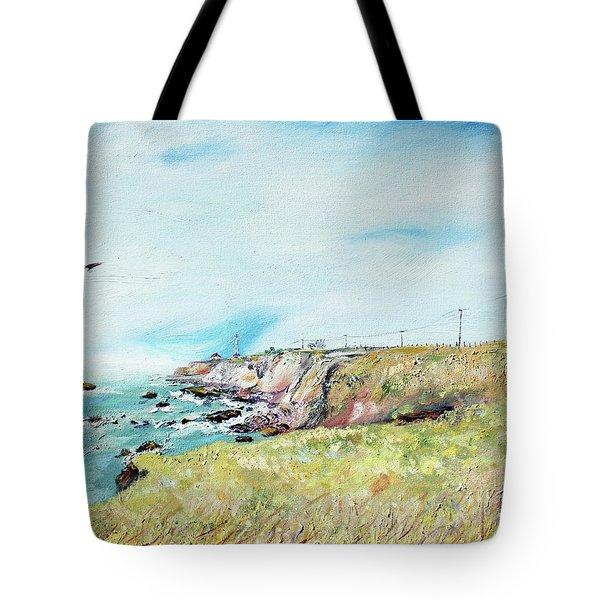 To The Lighthouse  Tribute To Virginia Woolf Tote Bag