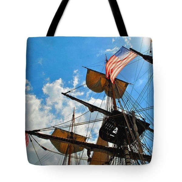 To The Maritime Sky Tote Bag