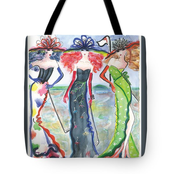 To The Nines Tote Bag