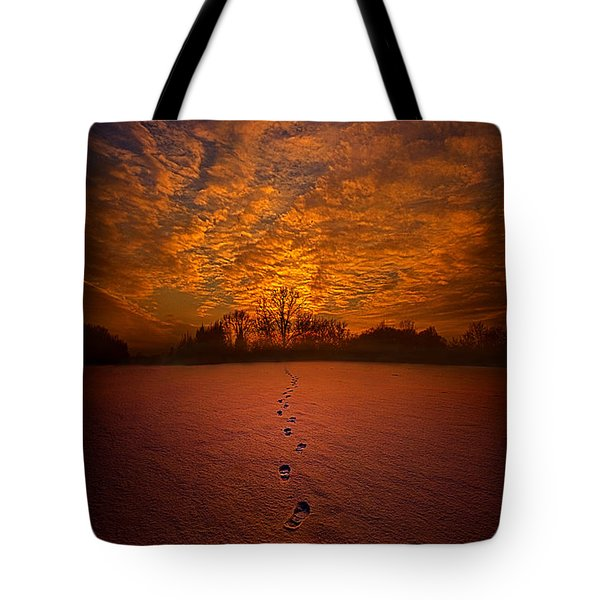 To The Point Of No Return Tote Bag