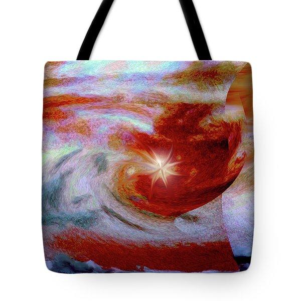 To The Stars Tote Bag by Linda Sannuti