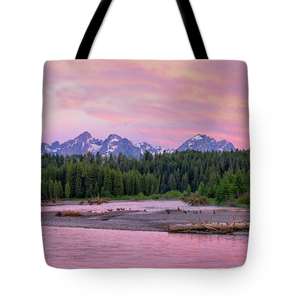 To The Tetons Tote Bag