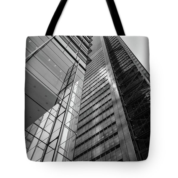 To The Top   -27870-bw Tote Bag