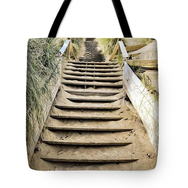 Tote Bag featuring the photograph To The Top by Michelle Calkins