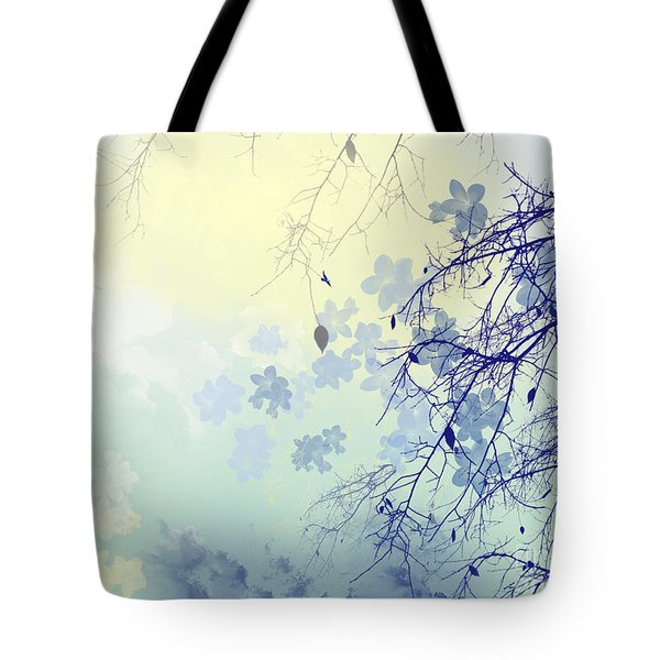 To The Waiting One Tote Bag by Trilby Cole