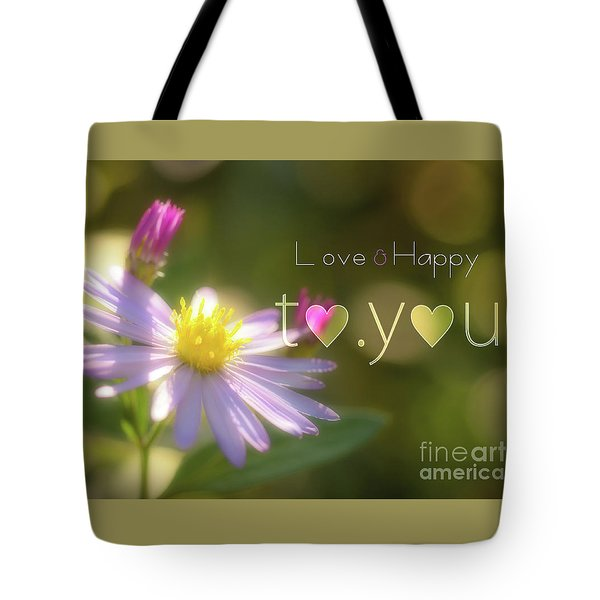 To You #003 Tote Bag