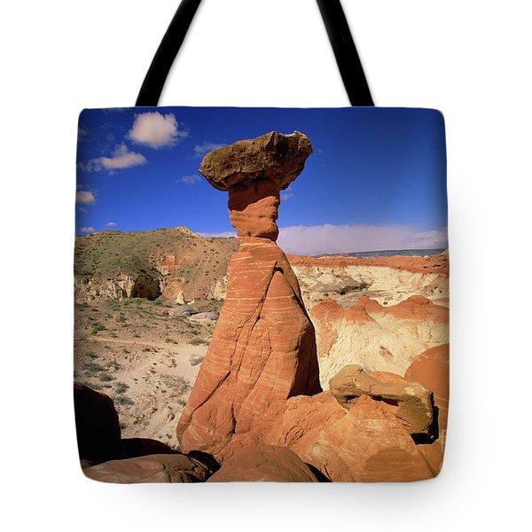 Toadstool Caprocks Utah Tote Bag